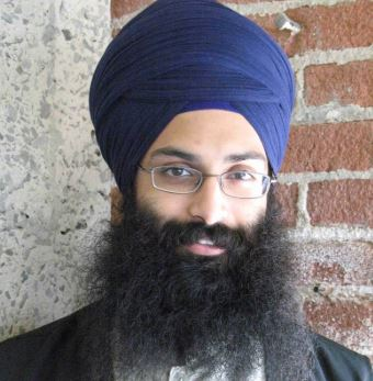Balpreet-Singh-with-a-turban-and-uncut-hair.-He-is-part-of-World-Sikh-Organization.