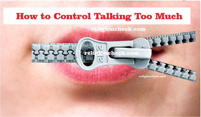 How to Control Talking Too Much
