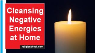 Negative energy at home cleansing and removal