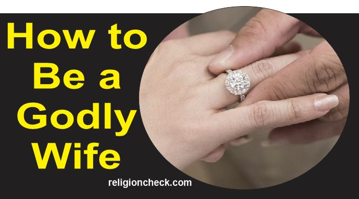 How to Be a Godly Wife