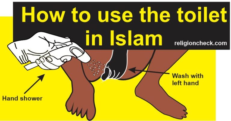 How to Clean Yourself After Toilet in Islam, Islamic Toilet Rules, Istinja Guide